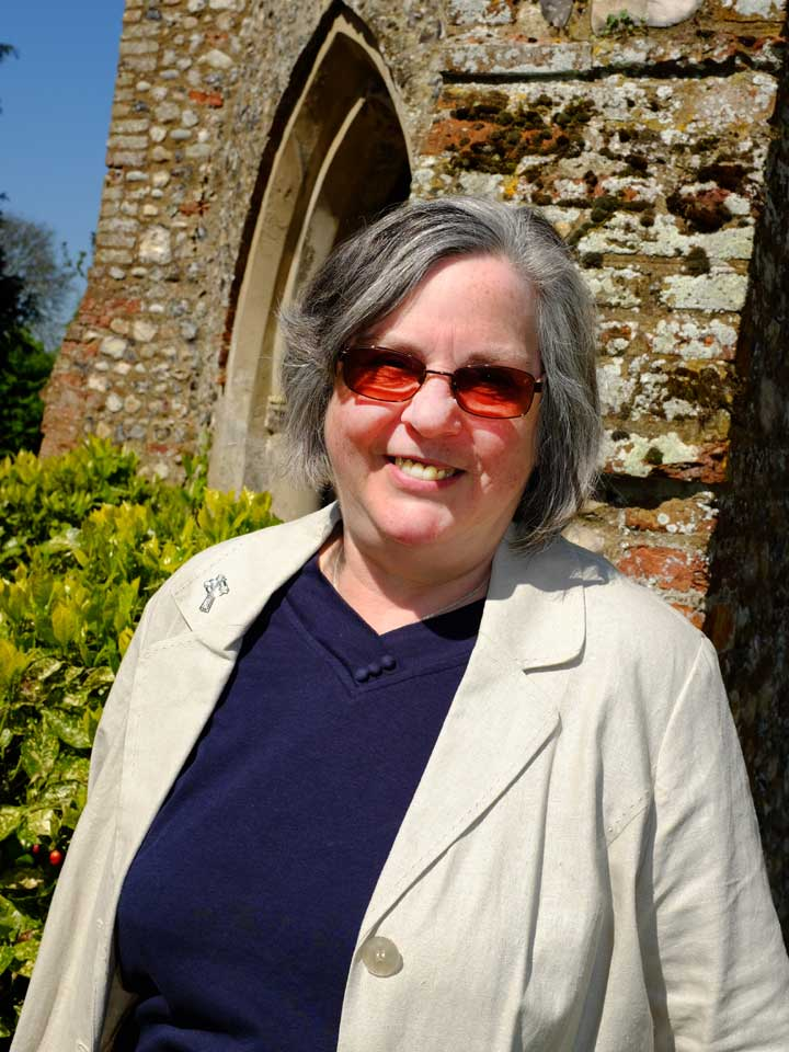 Judith Gardiner (Authorised Worship Assistant, Churchwarden All Saints Catfield)